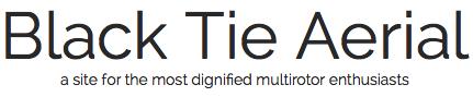 Black Tie Aerial Logo - Image