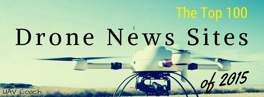 Top 100 Drone News Sites - Cover Image