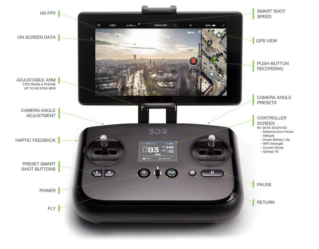 solo drone controller