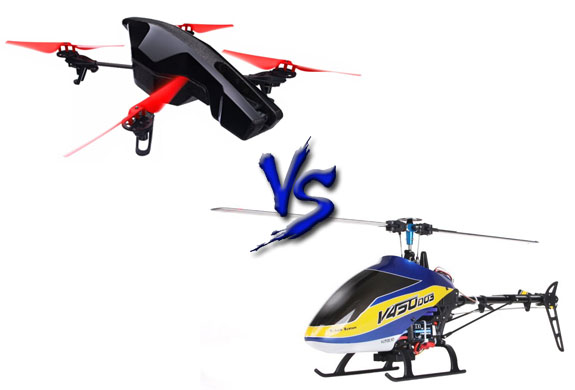 quads vs helis