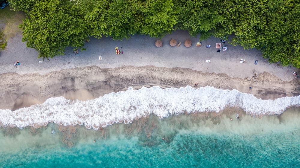 flying a drone in Hawaii