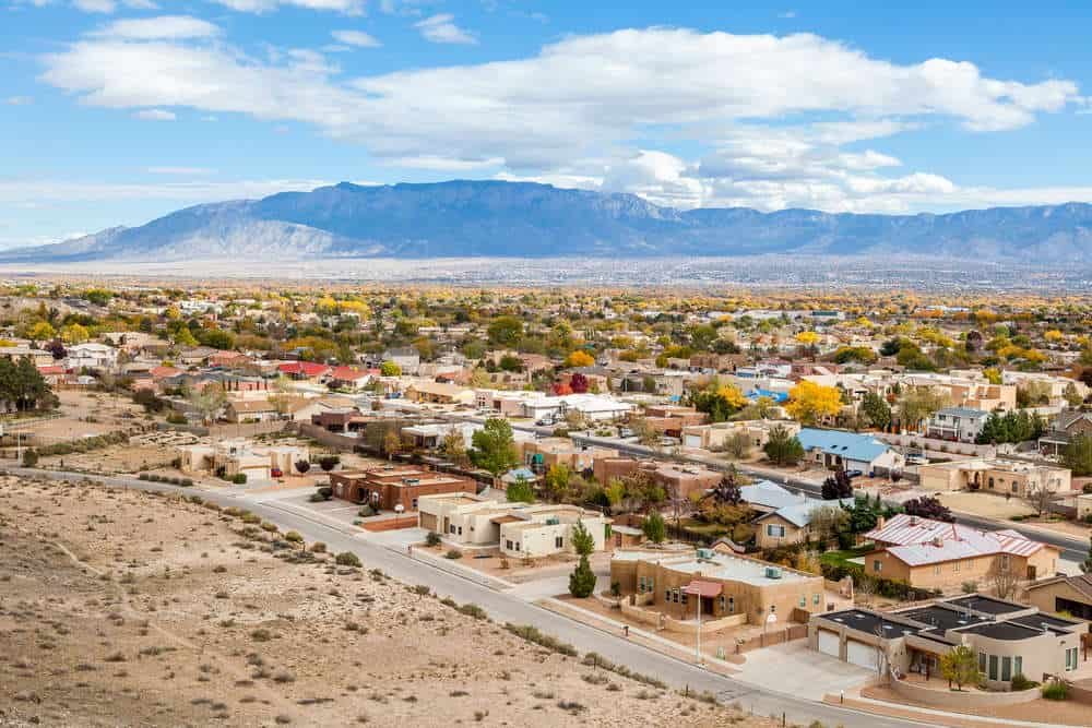 flying a drone in New Mexico