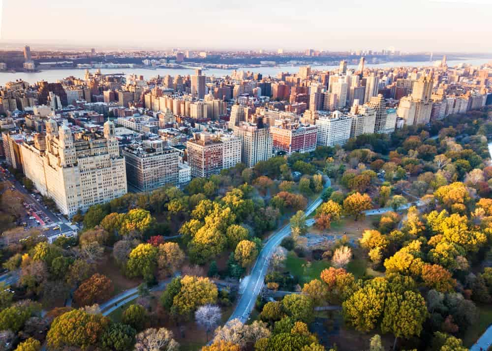 flying a drone in New York
