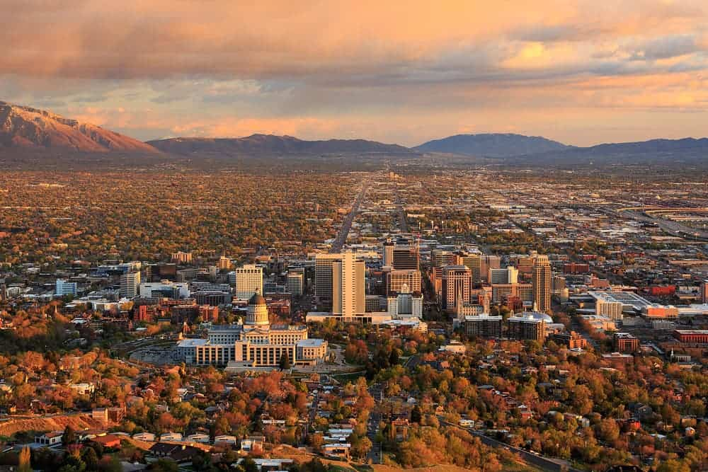 flying a drone in Utah