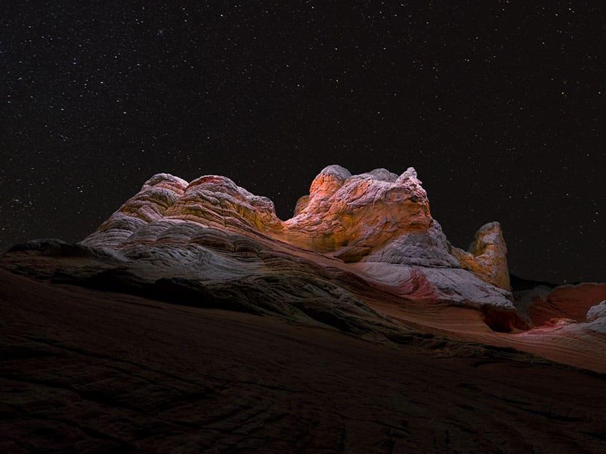 drone light mountain halo