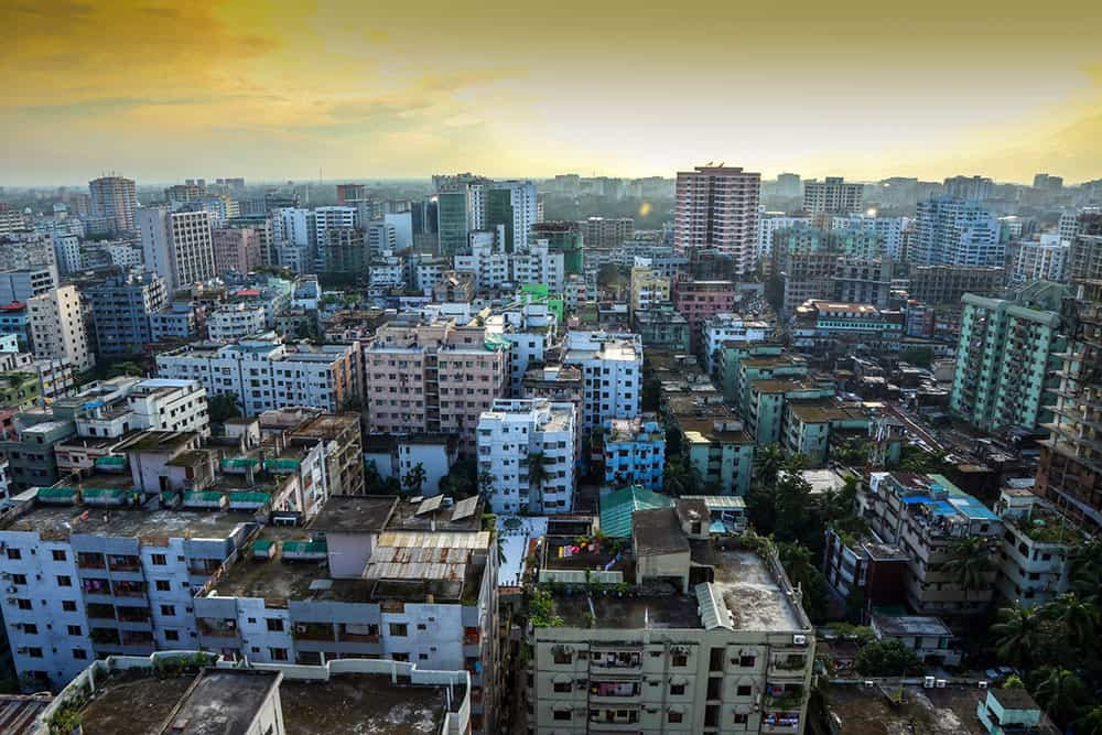 flying a drone in Bangladesh