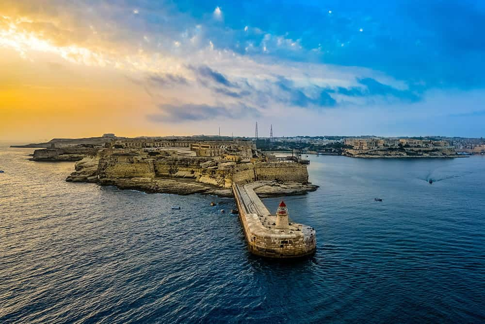 flying a drone in Malta