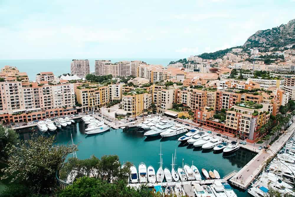 flying a drone in Monaco