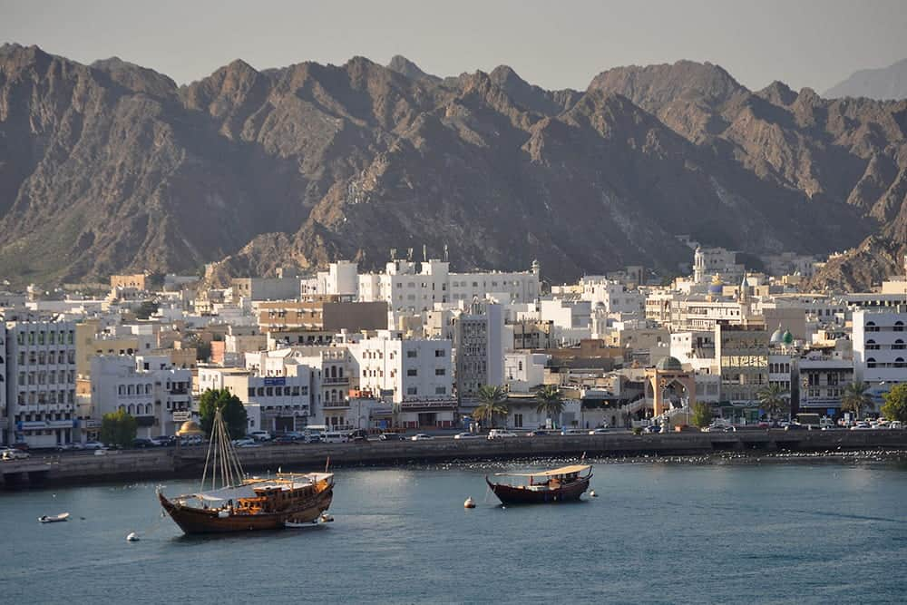 flying a drone in Oman