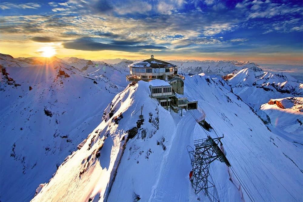 flying a drone in Switzerland