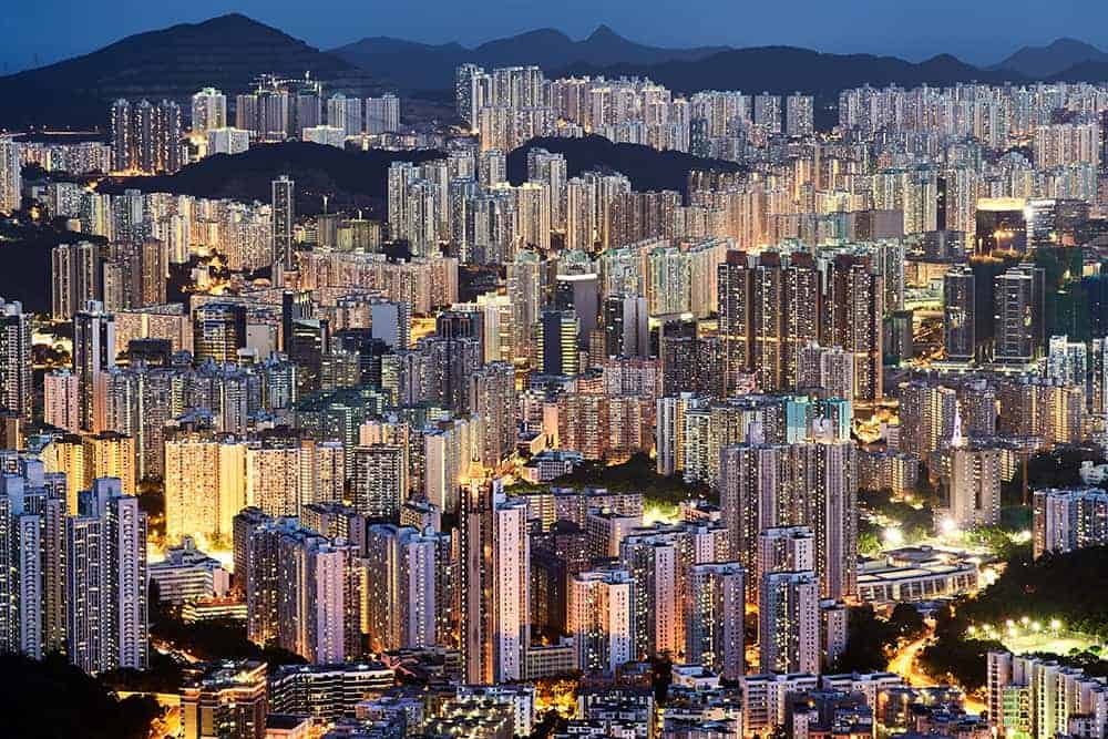 flying a drone in Hong Kong