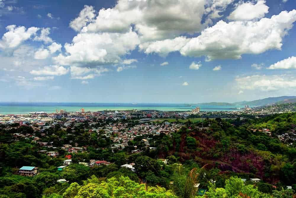 flying a drone in Trinidad