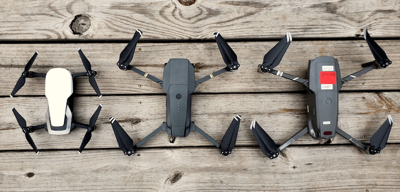 dji mavic 2 vs. dji mavic pro vs. dji mavic air