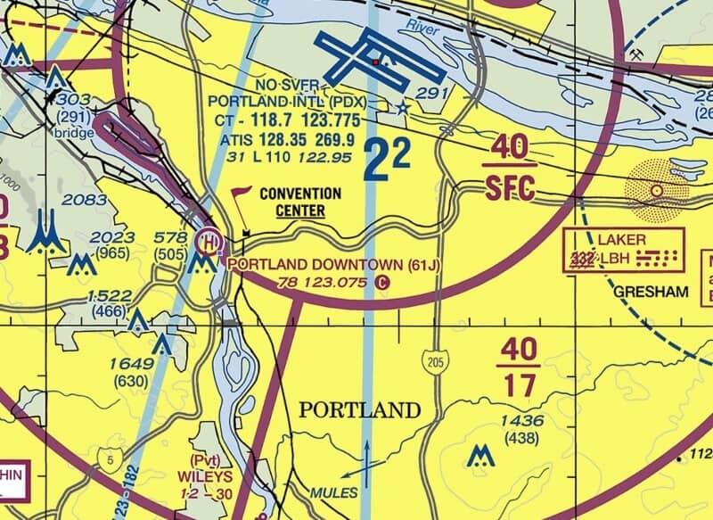 fly drone Portland