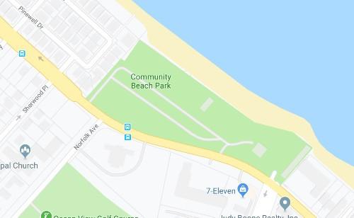 Community Beach Park Drone Training Virginia