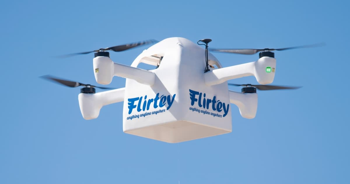 Flirtey Eagle Delivery Drone